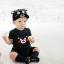 หมวกแก๊ป หมวกเด็กแบบมีปีกด้านหน้า ลายหมีคุมะมง (มี 2 สี) thumbnail 2