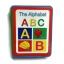 หนังสือโฟม ABC เคลือบกระดาษ สอน A-Z สำหรับเด็กเล็ก thumbnail 1