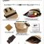 กระเป๋า ANELLO POLYESTER CANVAS SHOULDER BAG สีเทา thumbnail 3