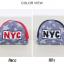 หมวกแก๊ป หมวกเด็กแบบมีปีกด้านหน้า ลาย NYC (มี 3 สี) thumbnail 15