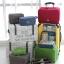 กระเป๋าจัดระเบียบ Travel Luggage Organizer เสียบที่จับของกระเป๋าเดินทางได้ มีช่องใส่สองชั้นกั้นด้วยช่องตาข่าย ผลิตจากโพลีเอสเตอร์กันน้ำ thumbnail 2