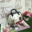 กระเป๋า Anello Canvas 2 Way Mini Boston Bag Tricolour เป้ผ้าใบ สะพายข้างลำตัว thumbnail 3
