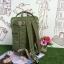 กระเป๋า Anello polyester square rucksack thumbnail 8