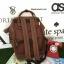 กระเป๋าเป้ Anello polyurethane D.Brown Mini thumbnail 2