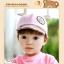 หมวกแก๊ป หมวกเด็กแบบมีปีกด้านหน้า ลายหมีน้อย (มี 4 สี) thumbnail 13