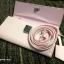 กระเป๋าเงิน กระเป๋าครัช Charles & Keith Top Handle Clutch Bag สีชมพู ราคา 1,090 บาท Free Ems thumbnail 5