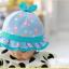 HT480••หมวกเด็ก•• / หมวกปีกกว้าง-กระต่าย (สีฟ้า) thumbnail 4