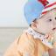 หมวกแก๊ป หมวกเด็กแบบมีปีกด้านหน้า ลายตัวอักษร H (มี 2 สี) thumbnail 4