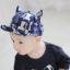 หมวกแก๊ป หมวกเด็กแบบมีปีกด้านหน้า ลายแมวเหมียว (มี 3 สี) thumbnail 2