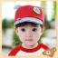 หมวกแก๊ป หมวกเด็กแบบมีปีกด้านหน้า ลายหมีน้อย (มี 4 สี) thumbnail 4