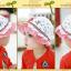 HT489••หมวกเด็ก•• / หมวกปีกกว้าง-Rabbit (สีแดง) thumbnail 5