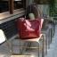 กระเป๋า Amory Leather Everyday Tote Bag สีแดง กระเป๋าหนังแท้ทั้งใบ 100% thumbnail 2