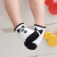 SK014••ถุงเท้าเด็ก•• โบว์ดำ (พื้นดำ-ข้อสั้น) thumbnail 4