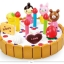 ของเล่นไม้ เซตตกแต่งหน้าเค้ก Wooden Decoration Cake Set by Mother Garden thumbnail 2