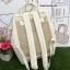 กระเป๋าเป้ Anello polyurethane Mini White thumbnail 2