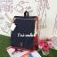 กระเป๋าเป้ Anello flap rucksack polyester canvas แบรนด์ดังรุ่นใหม่มาอีกแล้วว วัสดุผ้าแคนวาสเนื้อดี ยังคงเอกลักษณ์ความกว้างของปากกระเป๋าเพื่อการใช้งานที่ง่ายและสะดวก รุ่นนี้มีช่องเก็บสัมภาระมากมาย ทั้งภายในและภายนอก ด้านข้างใส่ขวดน้ำได้ ด้านหลังยังคงเป็นช่ thumbnail 30