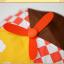 HT521••หมวกเด็ก•• / หมวกเบเร่ต์-ลิงขับเครื่องบิน [สีเบจ] thumbnail 6