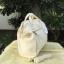 กระเป๋าเป้ ANELLO 2 WAY PU LEATHER BOSTON BAG (Regular)-----Ivory Color thumbnail 3