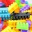 ของเล่นบล็อคตัวต่อเลโก้ชิ้นใหญ่สำหรับเด็กเล็กวัย 2-5 ปี แบบถังหิ้ว 180 ชิ้น thumbnail 3