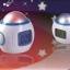 โคมไฟนาฬิกา LED Star thumbnail 1