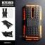 เคส ASUS Zenfone 2 (5.5 นิ้ว) กรอบบั๊มเปอร์ กันกระแทก Defender สีส้ม (เป็นขาตั้งได้) thumbnail 1