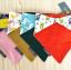 ผ้าซับน้ำลายสามเหลี่ยม ผ้ากันเปื้อนเด็ก แบบใช้ได้ 2 ด้าน / มี 4 ลาย thumbnail 3