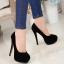รองเท้าส้นสูงไซส์ใหญ่ Midnight Ella Platform ไซส์ 40-46 รุ่น KR0592 thumbnail 6