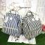 กระเป๋า Anello Casual Fabric Square Shaped Rucksack อีกรุ่นฮิตที่ขายดีสุดๆในญี่ปุ่น thumbnail 6