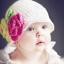 หมวกไหมพรมหนูน้อย ถักโครเชต์ทั้งใบ ถักดอกไม้สีสวย น่ารัก เหมาะสำหรับเด็กผู้หญิง thumbnail 1