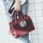 กระเป๋า Fashion Usen Import Redwine Colour ราคา 990 บาท Free Ems thumbnail 6