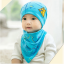 AP205••เซตหมวก+ผ้ากันเปื้อน•• / Camp [สีฟ้า] thumbnail 4