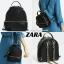กระเป๋า ZARA CONVERTIBLE BACKPACK หนังนิ่มสวยอยู่ทรงขนาดมินิ thumbnail 1