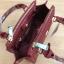 LYN Madison Bag สีแดง กระเป๋าถือหรือสะพายทรงสวย รุ่นใหม่ล่าสุด วัสดุหนัง Saffiano thumbnail 10