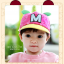 หมวกแก๊ป หมวกเด็กแบบมีปีกด้านหน้า ลาย M-มิกกี้ (มี 4 สี) thumbnail 12