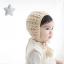 หมวกไหมพรมถักมือ หมวกบีนนี่สำหรับเด็ก สีพื้น (มี 2 สี) thumbnail 12