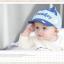 HT331••หมวกเด็ก•• / หมวกแก็ป Monkey (สีฟ้า) thumbnail 2