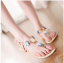 รองเท้าแตะส้นแบนไซส์ใหญ่ Gem Ornament รุ่น KR0240 thumbnail 5