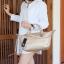 กระเป๋า KEEP Longchamp Style Duo Sister Rose Gold ราคา ใบใหญ่ 1,490 Free Ems thumbnail 7