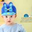 HT096••หมวกเด็ก•• / หมวกแก๊ปกระต่าย [สีน้ำเงิน] thumbnail 2