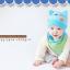 เซตหมวก+ผ้าซับน้ำลาย / ลาย Cat Baby (มี 5 สี) thumbnail 2