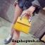 กระเป๋า Infinity Mini Croc City Bag สีเหลืองมัสตารค์ ราคา 890 บาท Free Ems thumbnail 1