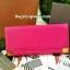 กระเป๋าสตางค์ ยาว สีชมพู แต่งมุม สุดเก๋ ขอบทอง ยี่ห้อ CHARLES & KEITH แท้ รุ่น METAL DETAIL WALLET thumbnail 1