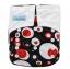 กางเกงผ้าอ้อมซักได้ ชาโคลใยไผ่ Nana Baby Bamboo Charcoal Diaper thumbnail 17