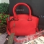 กระเป๋า CHARLES & KEITH TRAPEZE CITY BAG 2016 สีแดง กระเป๋าถือหรือสะพายหนัง Saffiano thumbnail 4
