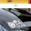 สติกเกอร์ Baby in Car งานเกาหลี รูปเด็กหญิงทักทาย Hello สีขาว thumbnail 3