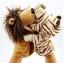ตุ๊กตาหุ่นมือเสือ หัวใหญ่ ขนนุ่มนิ่ม สวมขยับปากได้ thumbnail 4