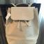 กระเป๋า MANGO DRAWSTRING BACKPACKกระเป๋าสะพายทรงเป้ หนังเรียบอยู่ทรง สวยขนาดกำลังดี เปิด-ปิดด้วยกระดุมแม่เหล็กเเละหูรูด Drawstring ภายในกว้าง จุสุดๆค่ะ สามารภถใส่เอกสาร A4 หนังสือ ipad ได้น้ำหนักเบา สะพายไปเรียน ทำงาน ไปเที่ยวก็ดูดี thumbnail 4