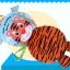 หนังสือผ้า 3 มิติ สัตว์โลกน่ารัก Jollybaby Farm&Jungle Animal 3D Book thumbnail 10