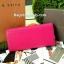 กระเป๋าสตางค์ ยาว สีชมพู แต่งมุม สุดเก๋ ขอบทอง ยี่ห้อ CHARLES & KEITH แท้ รุ่น METAL DETAIL WALLET thumbnail 6