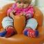เก้าอี้หัดนั่งเด็ก แบบเป่าลม โซฟาส่วนตัวสำหรับวัยตั้งแต่ 3 เดือนขึ้นไป thumbnail 11